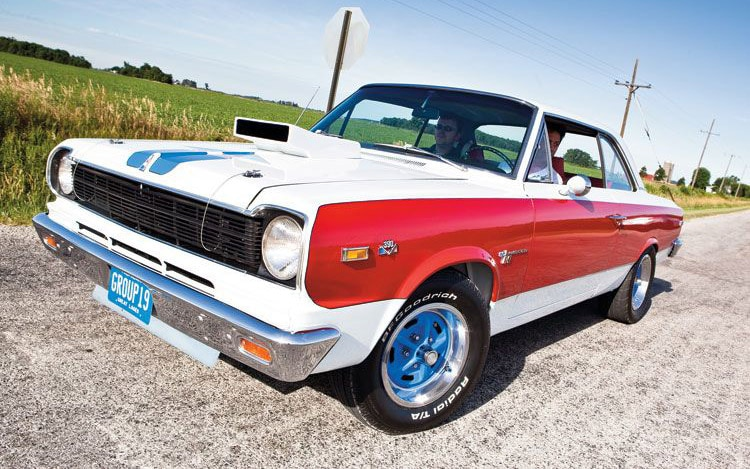 1969 AMC SC Rambler Front Three Quarter1