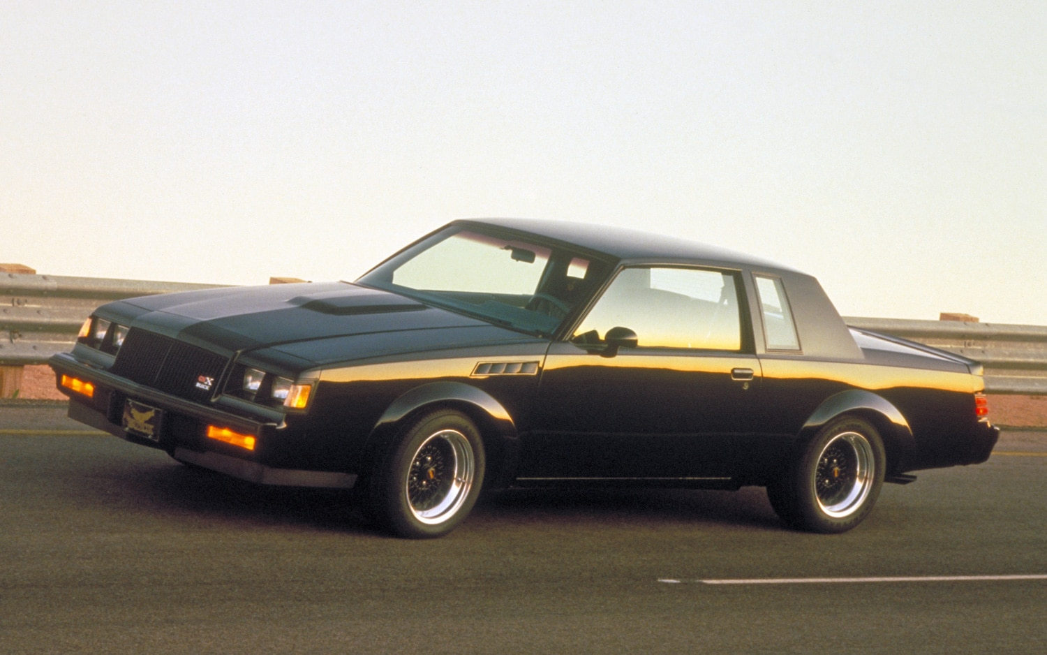 1987 Buick Regal GNX Coupe Front Three Quarter1