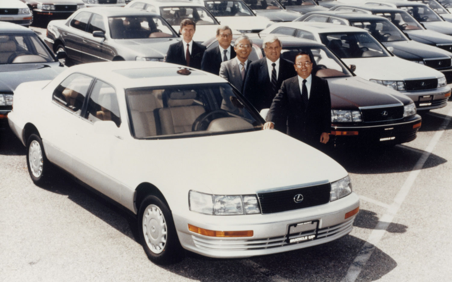 LS Is More A Brief Timeline Of Lexus LS Flagship