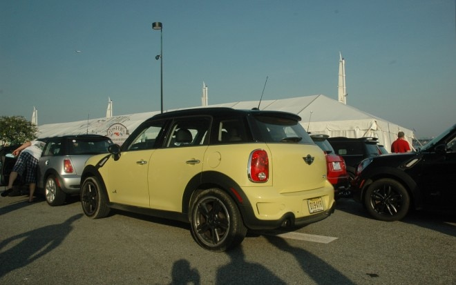 2011 Mini Cooper S Countryman ALL4 Rear Left Side View1 660x413