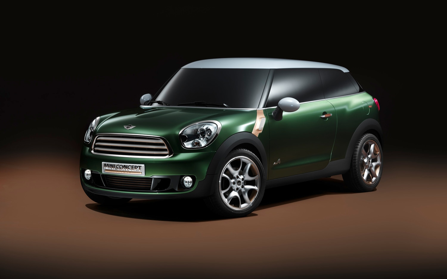 2011 Mini Paceman Concept Front Three Quarter11