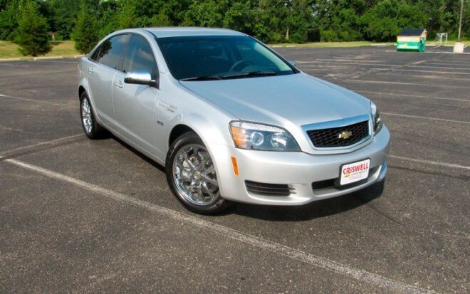 2011 Chevrolet Caprice Front Three Quarters1 660x413