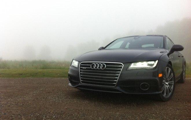 2012 Audi A7 Front Left View1 660x413
