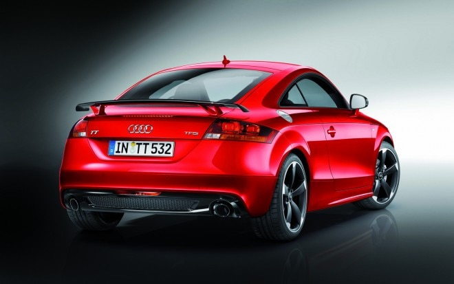 2012 Audi TTS Competition Special Edition Rear Three Quarter1 660x413