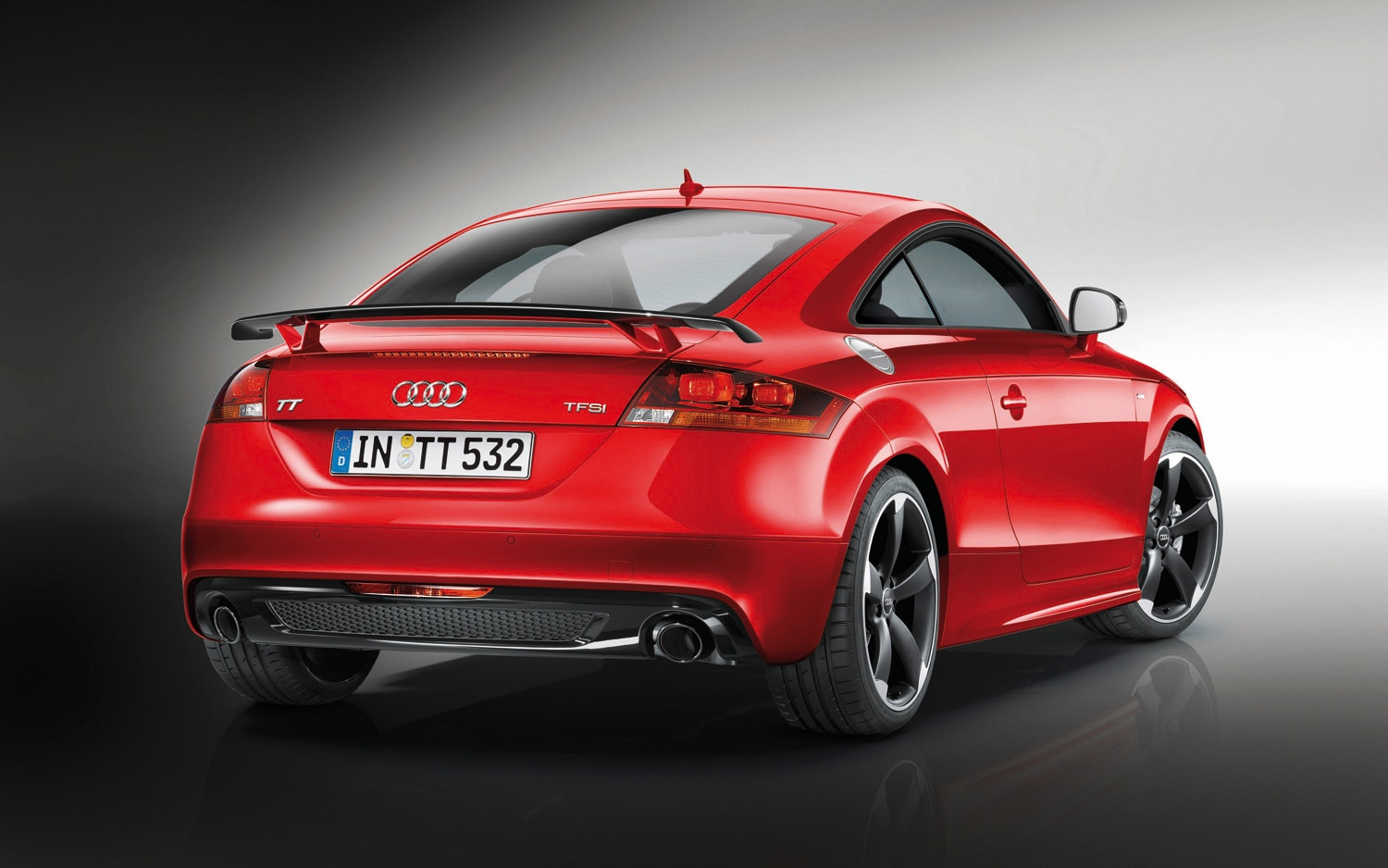 2012 Audi TTS Competition Special Edition Rear Three Quarter1