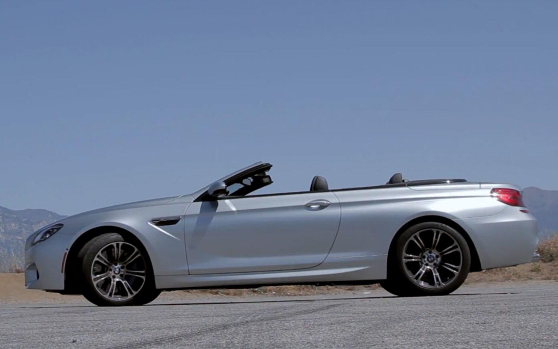 2012 BMW M6 Convertible Profile Top Down1