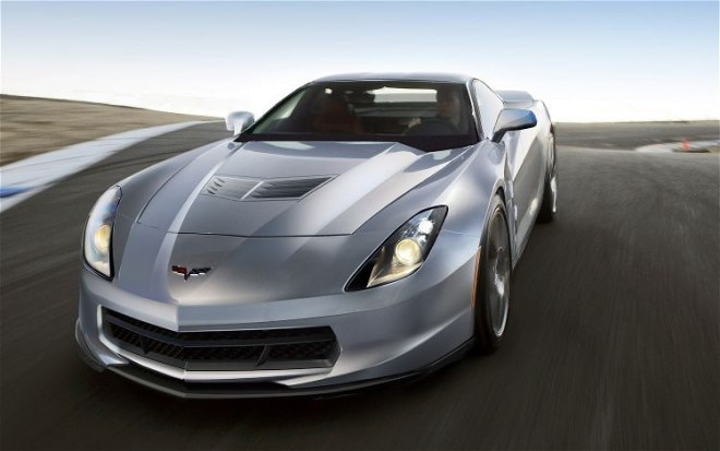 2012 Chevrolet Corvette C7 Front End In Motion