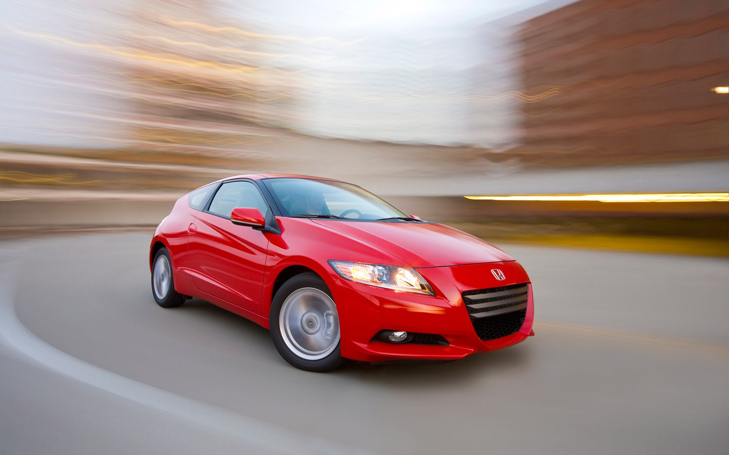 2012 Honda CR Z Front Three Quarter In Motion1