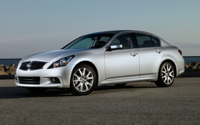 2012 Infiniti G37 Sedan Front Three Quarters1 660x413