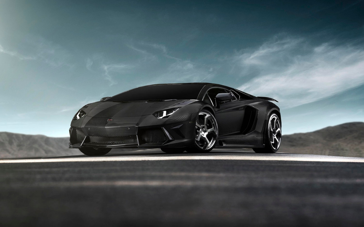 2012 Mansory Carbonado Front Three Quarter1