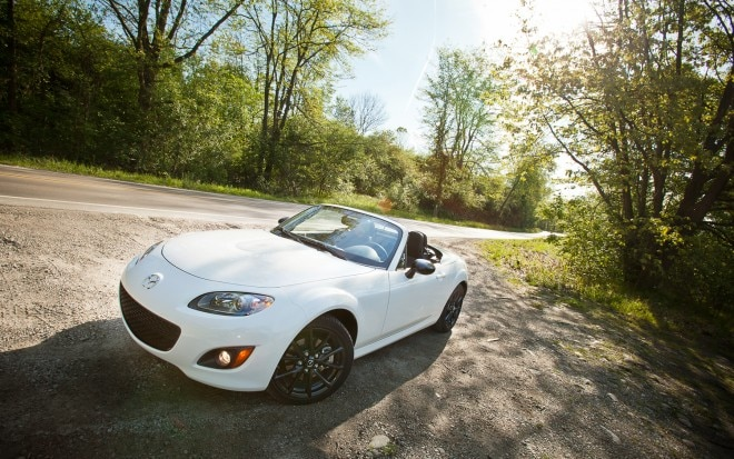 2012 Mazda MX 5 Miata Special Edition PRHT Front Left View1 660x413