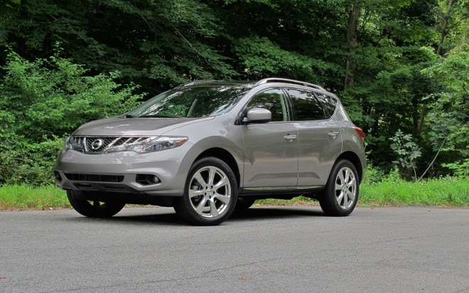 2012 Nissan Murano Front Left View1 660x413