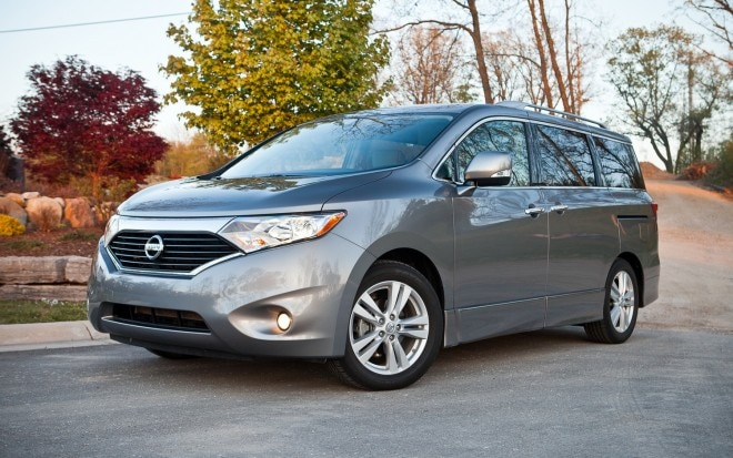 2012 Nissan Quest 3 5 LE Front Left Side View1 660x413