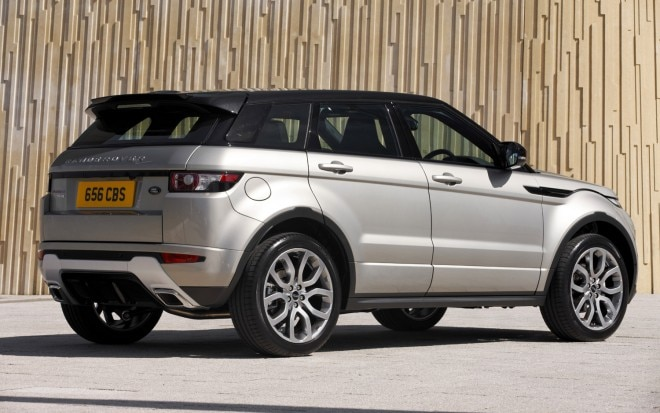 2012 Range Rover Evoque Rear Three Quarter1 660x413