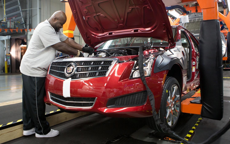 2013 Cadillac ATS Production 11