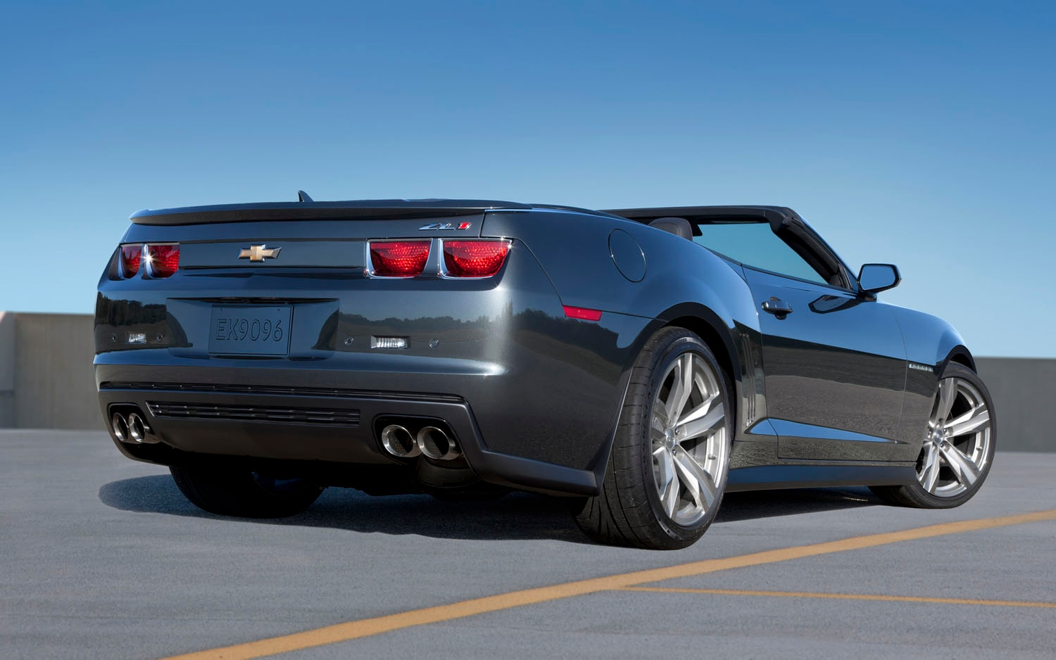 let in the tire smoke: 2013 chevy camaro zl1 convertible priced at