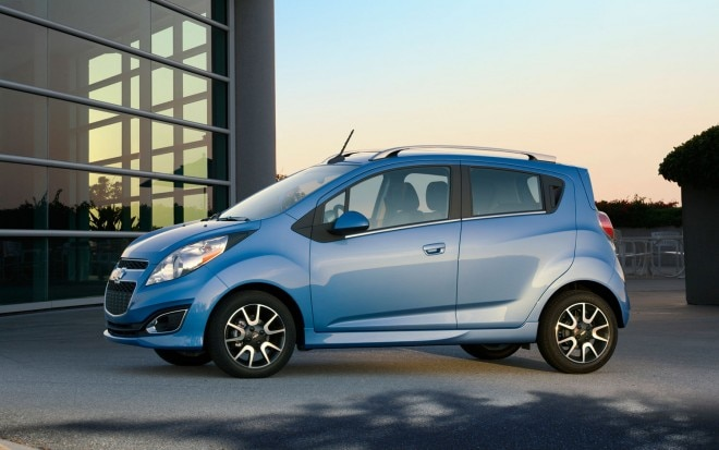 2013 Chevrolet Spark Side View1 660x413