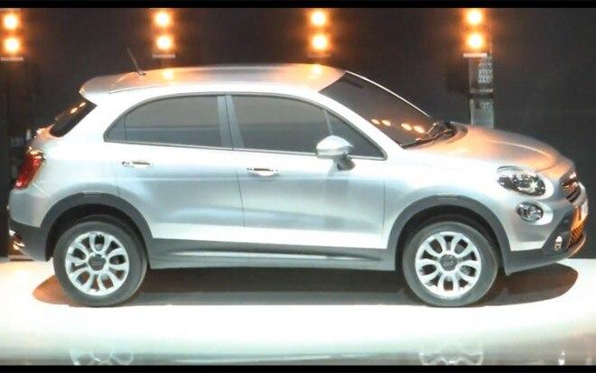 2013 Fiat 500X Teased Front Three Quarter1 660x413