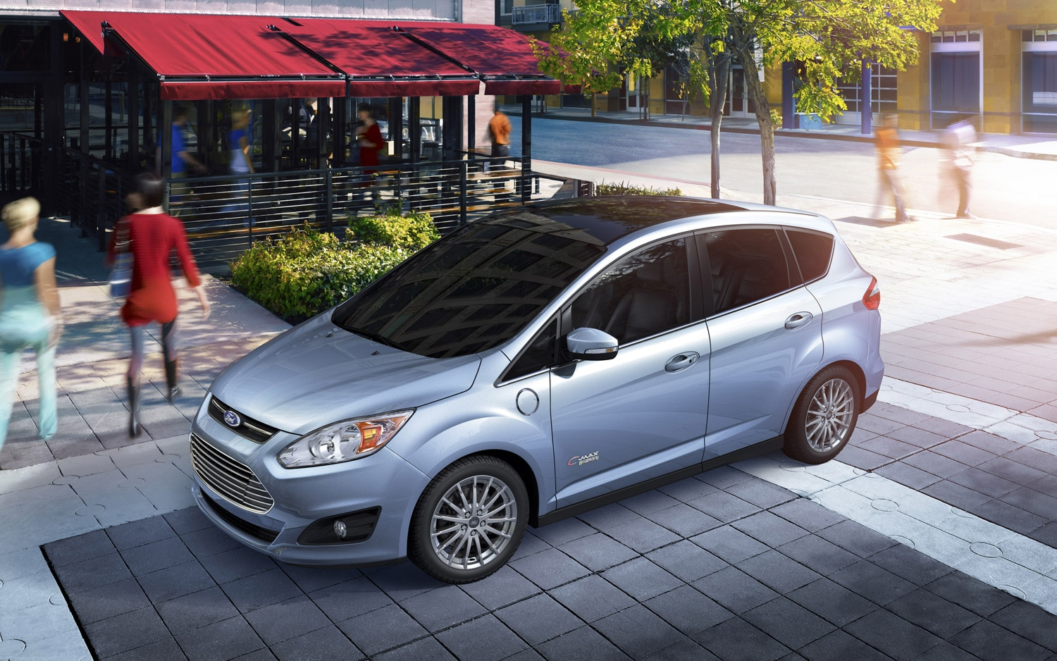 2013 Ford C Max Energi Front Three Quarter1