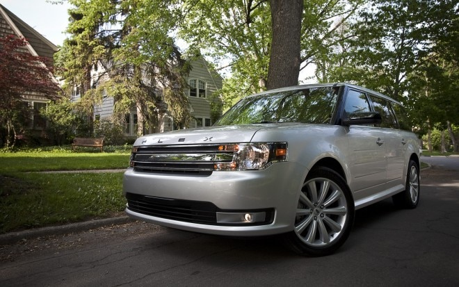 2013 Ford Flex SEL Front Left View2 660x413