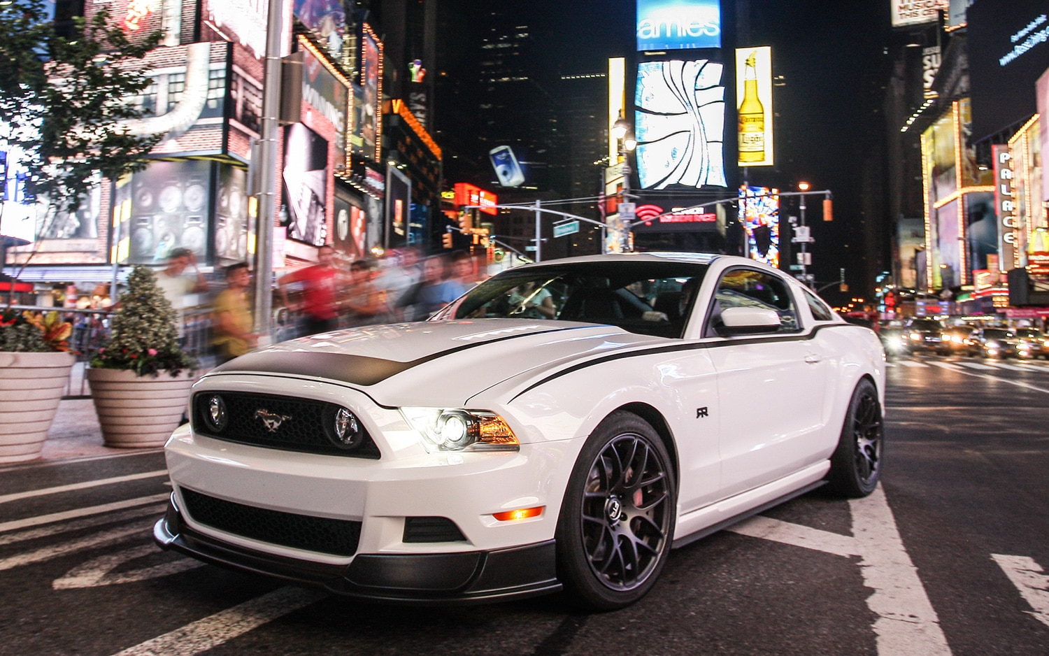 2013 Ford Mustang RTR Front Three Quarter NYC1