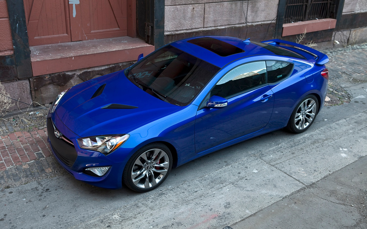 2013 Hyundai Genesis Coupe 3 8 Track AT Front Left Side View1