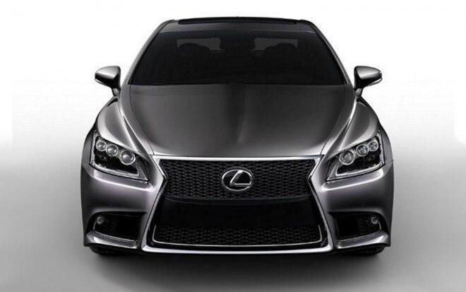 2013 Lexus LS Front View1 660x413