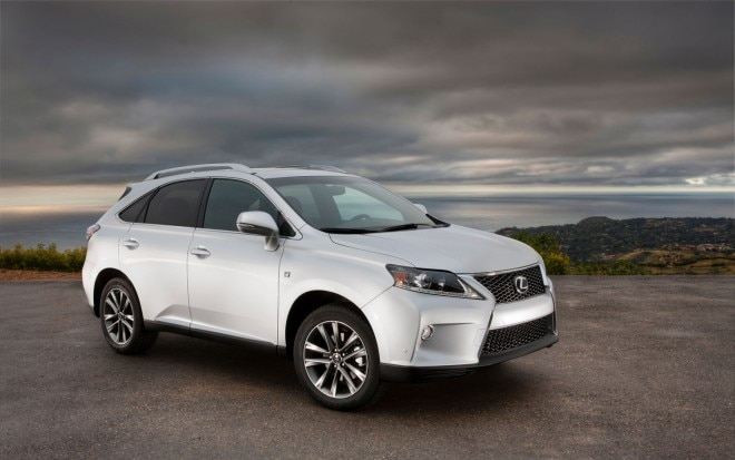 2013 Lexus RX F Sport Front Three Quarter1 660x413