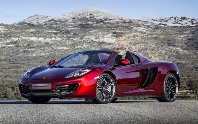 2013 McLaren 12C Spider Front Three Quarter Static 211 660x413