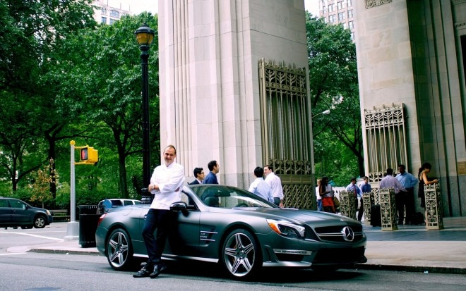 2013 Mercedes Benz SL63 AMG With Chef Daniel Humm1 660x413
