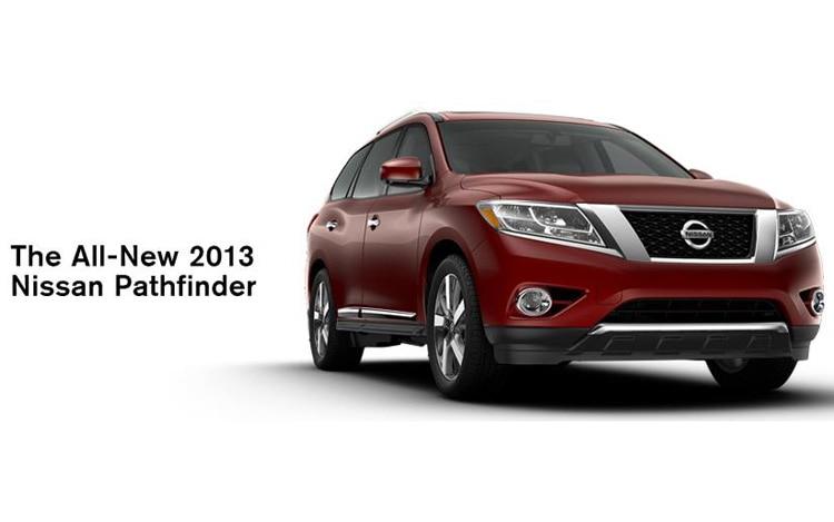 2013 Nissan Pathfinder Front Three Quarter 21