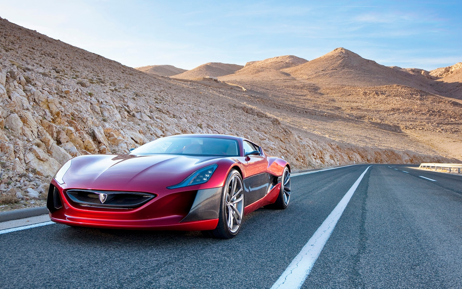 2013 Rimac Concept One Front Three Quarter1