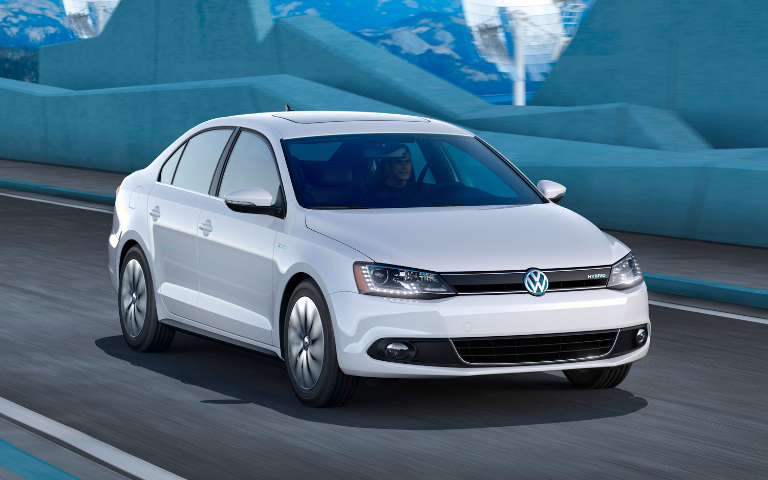 2013 Volkswagen Jetta Hybrid Right Front1