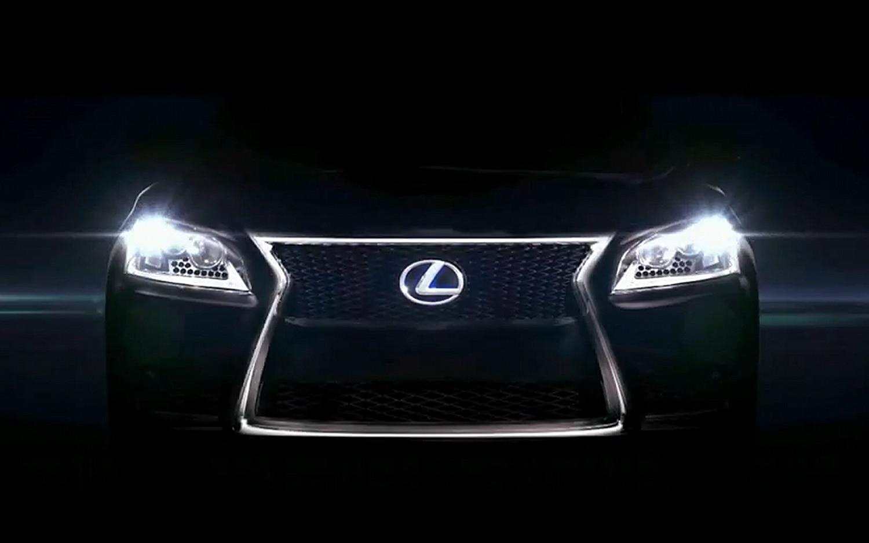 2014 Lexus LS Teaser1
