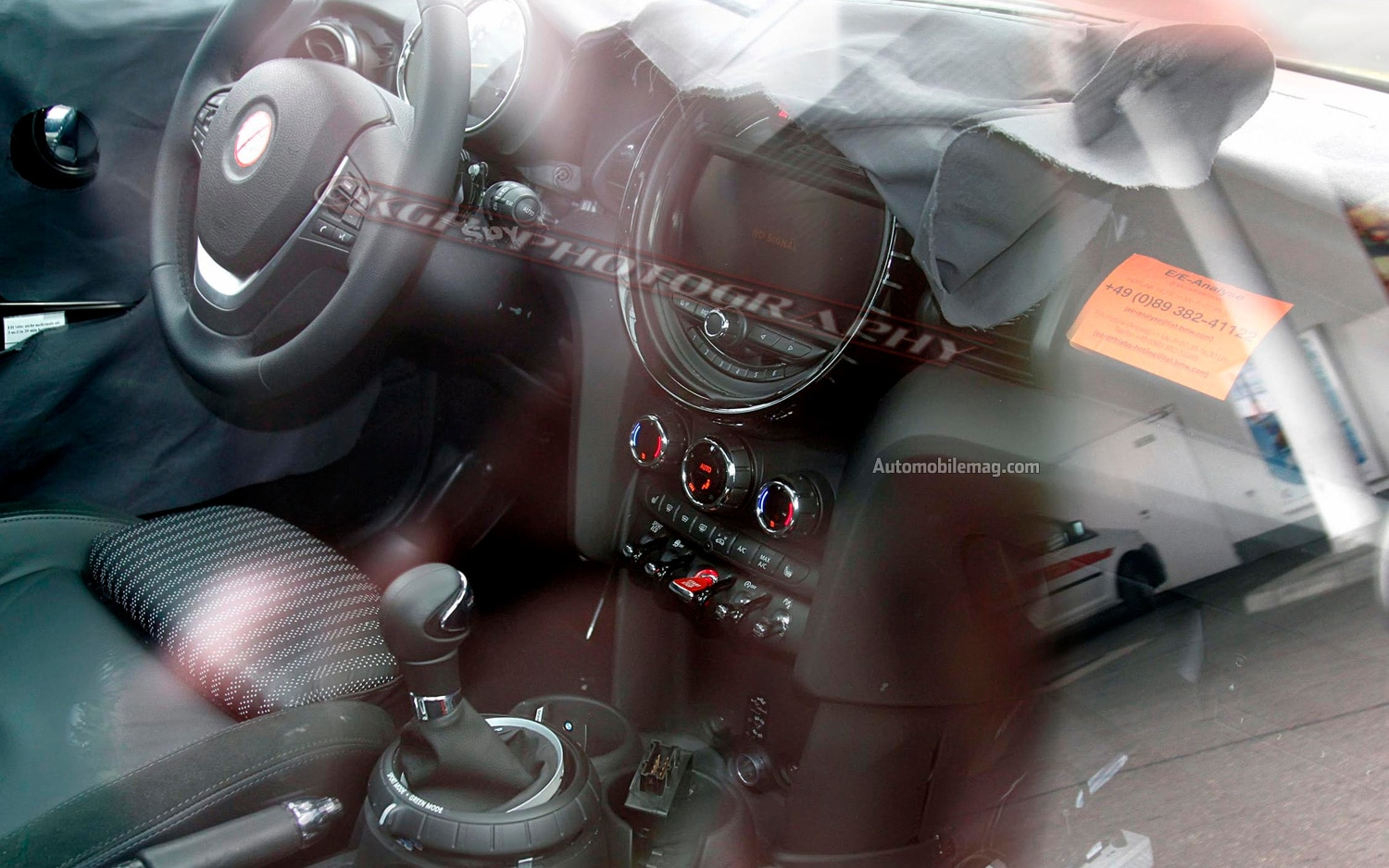 2014 Mini Cooper Interior Spy Photo AM
