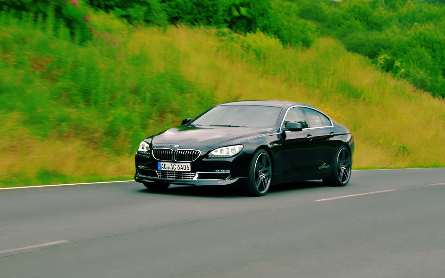 AC Schnitzer ACS6 Gran Coupe Front Three Quarter In Motion 11