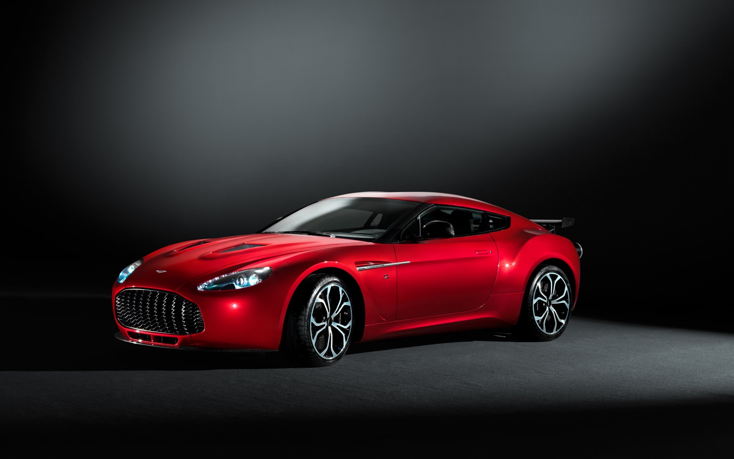 Aston Martin V12 Zagato Front Three Quarter1