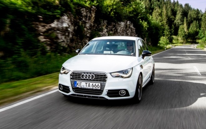 Audi AS1 Sportback By ABT Front Three Quarter Motion1 660x413
