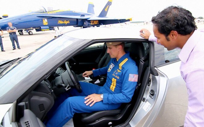 Blue Angels Pilot Nissan GT R1 660x413
