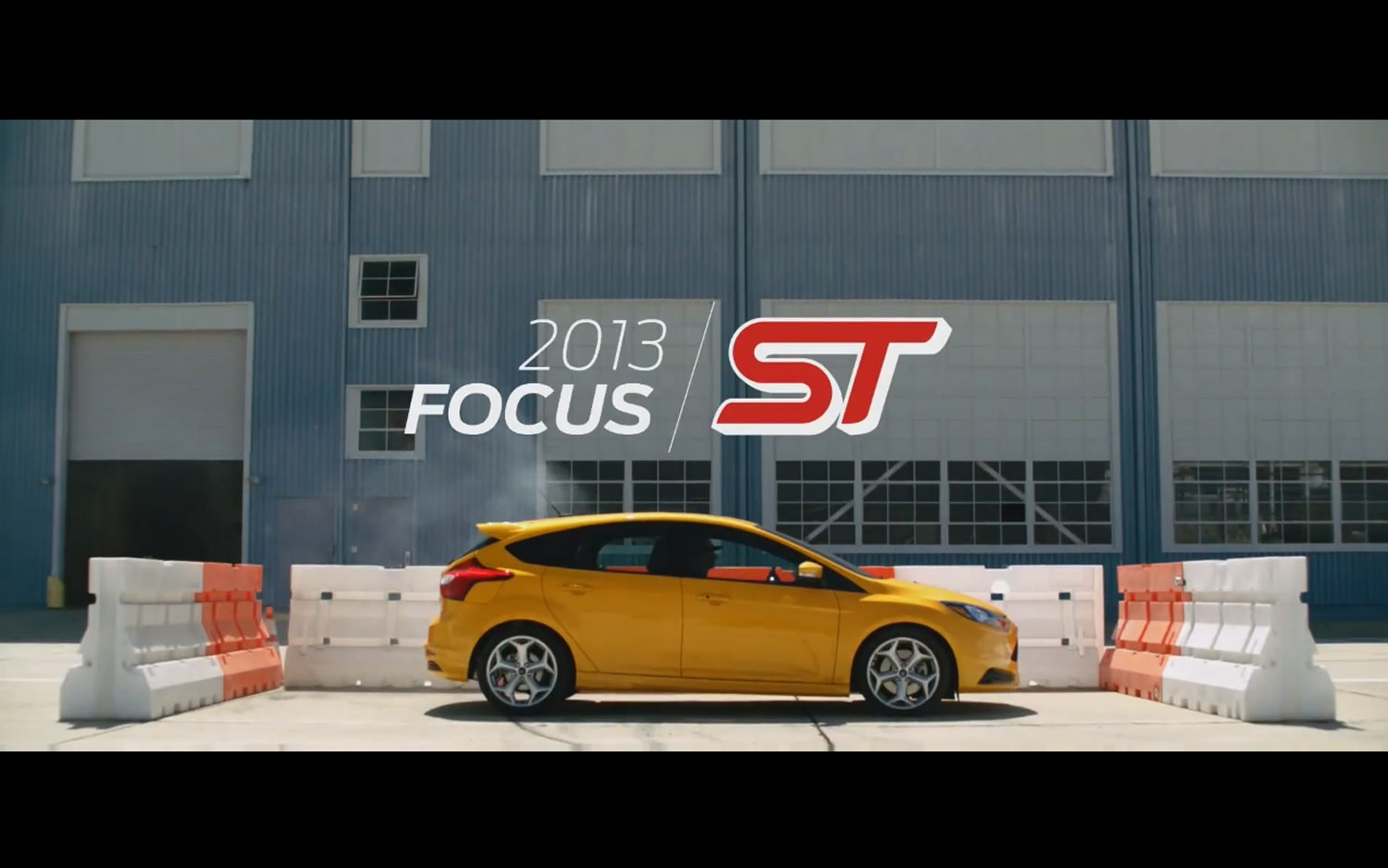 Ford Focus ST Sessions Title Plate1