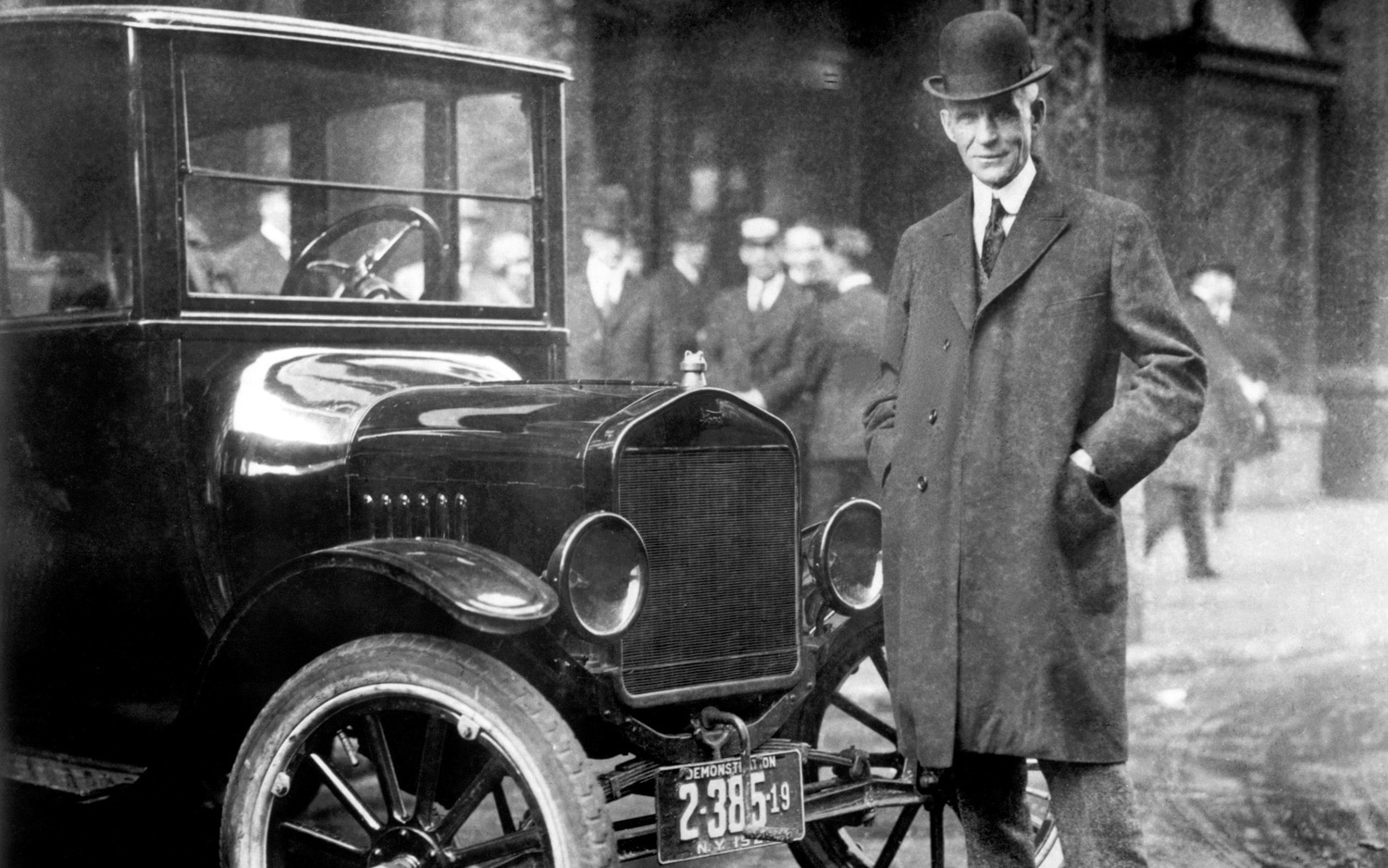 Henry Ford And 1921 Model T1