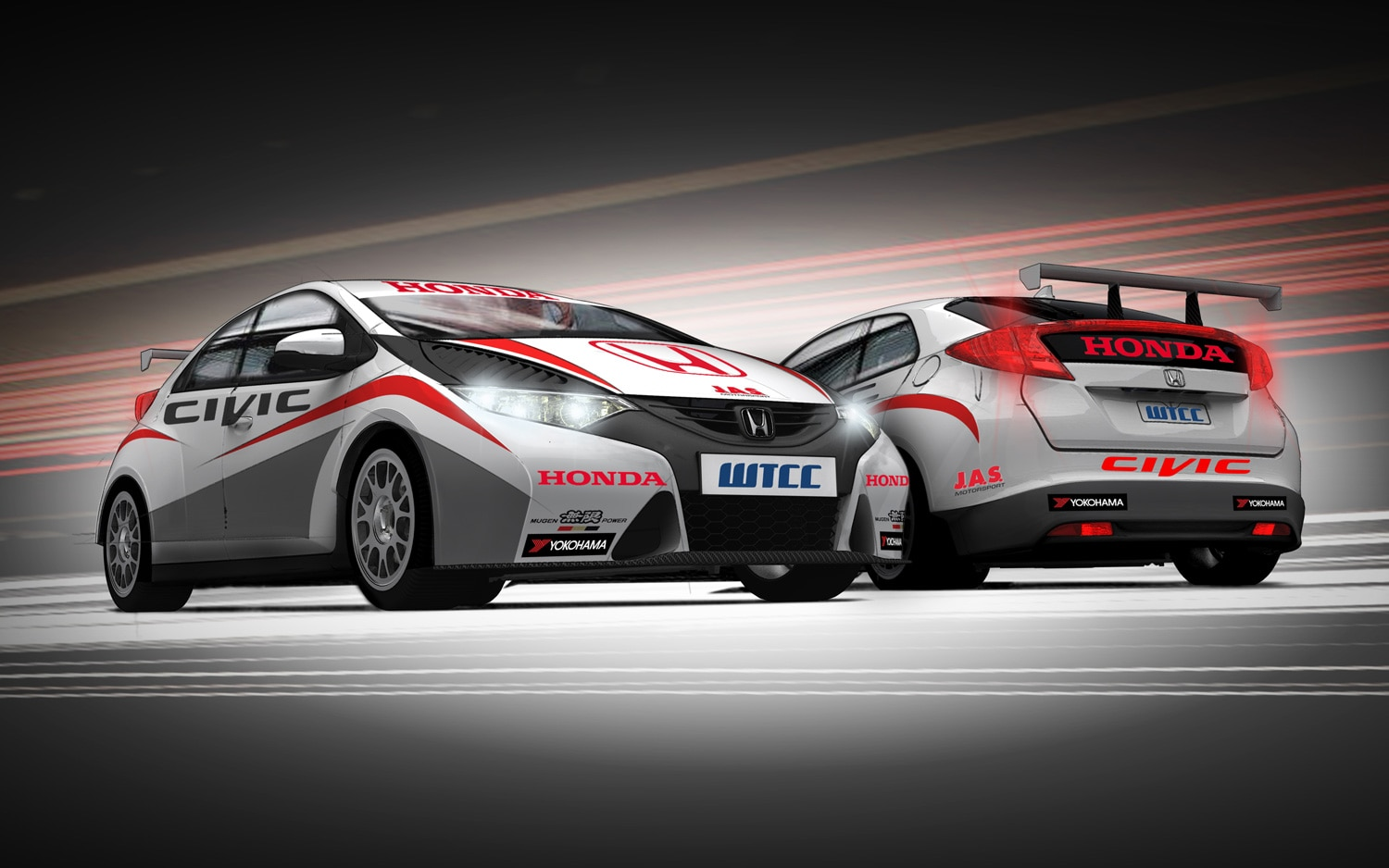 Honda reveals 1 6 liter turbo for touring car could it for Honda civic race car