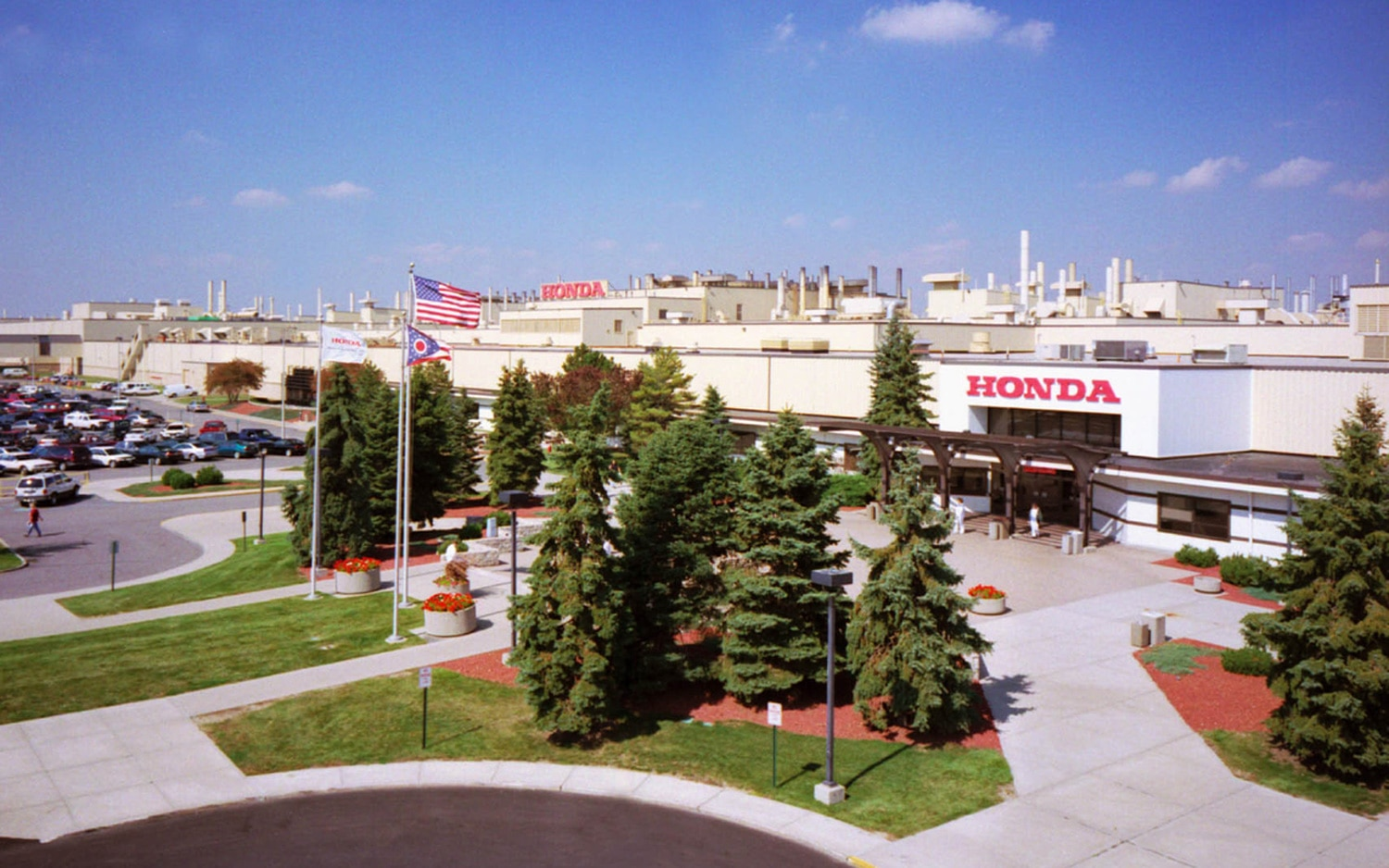 The 15 top producing american car plants for Honda marysville oh