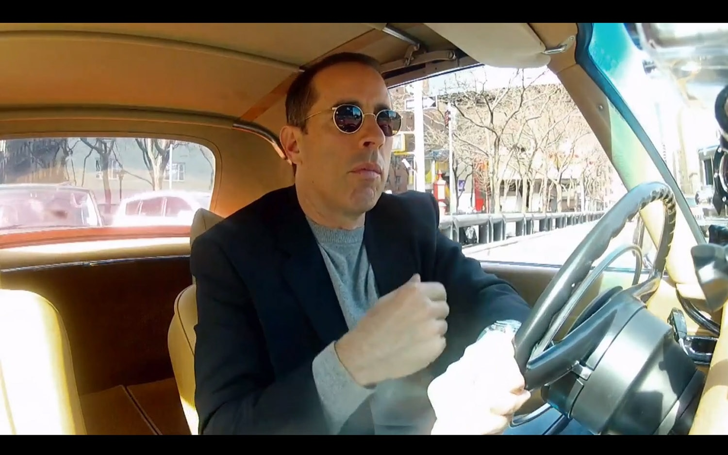 Jerry Seinfeld Comedians Coffee 11