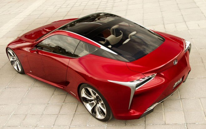 Lexus LF LC Hybrid Sport Coupe Concept Rear Three Quarters1 660x413