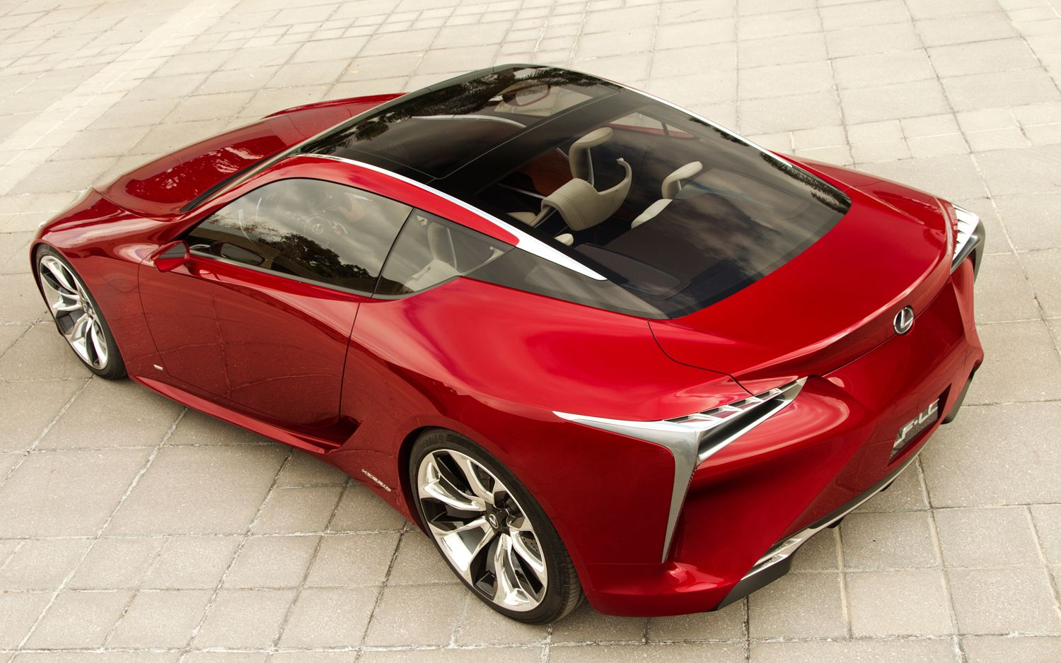 Lexus LF LC Hybrid Sport Coupe Concept Rear Three Quarters1