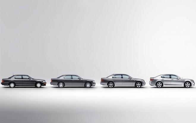 Lexus LS Generations Lineup1 660x413