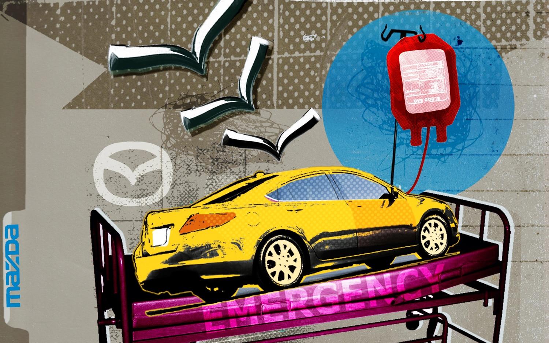 Mazda Illustration Cropped