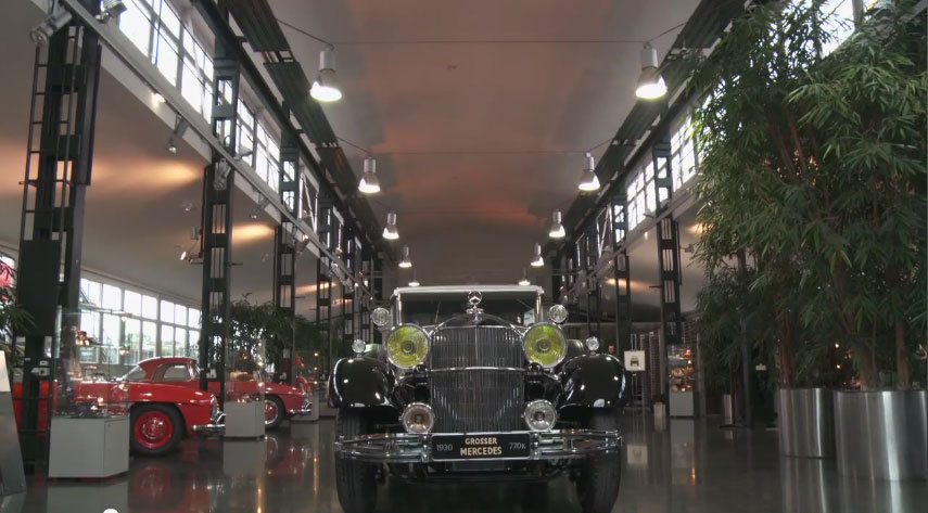 Mercedes Benz Classic Center 1