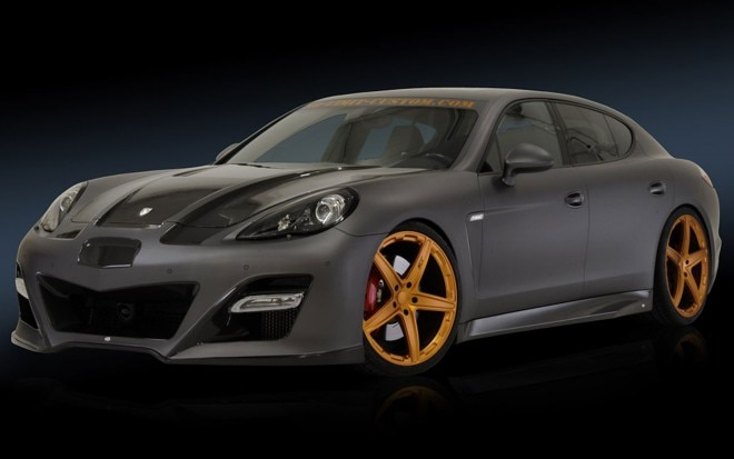 NLC Porsche Panamera Front Three Quarters View1 660x413